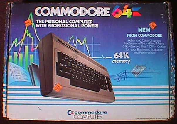 Historia de la Commodore 64